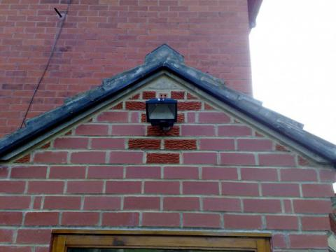 Security light installation Yorkshire