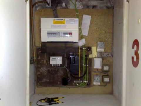 Electrical rewire Yorkshire
